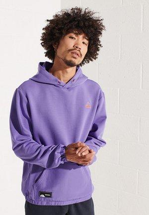 Hoodie - purple opulence