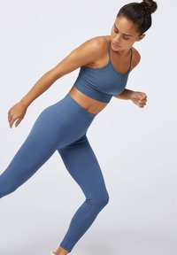 OYSHO - SEAMLESS - Legginsy - dark blue - 5
