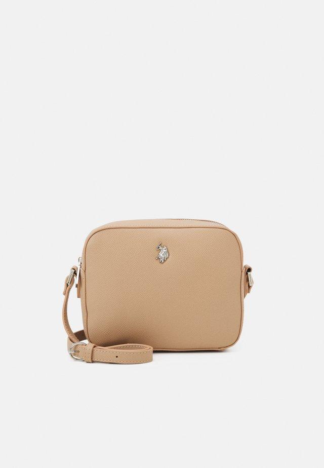 JONES CROSSBODY BAG - Across body bag - beige