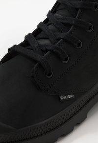 Palladium - PAMPA ZIP - Botki sznurowane - black - 5
