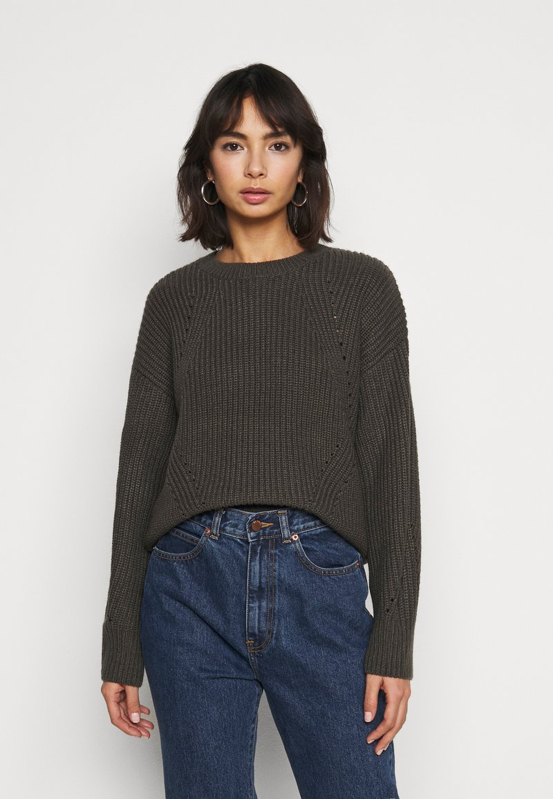 New Look Petite - FASHIONED JUMPER - Svetr - mid grey