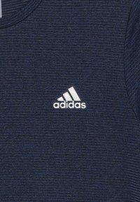 adidas Performance - TEE - Print T-shirt - blue/tech ink/black - 4