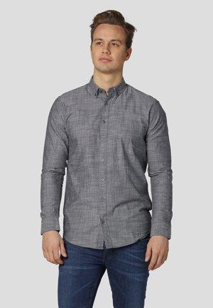 WILLUM SOLID - Skjorta - iron grey