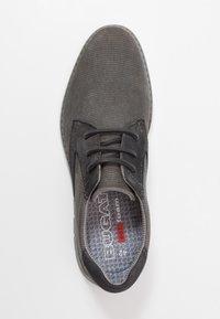 Bugatti - SANDMAN - Zapatos con cordones - grey - 1