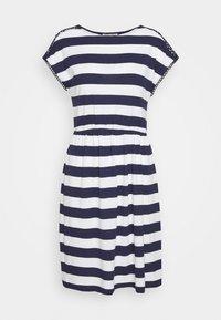 Anna Field - Vestido ligero - evening blue/white - 3