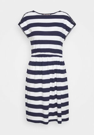 Robe en jersey - evening blue/white