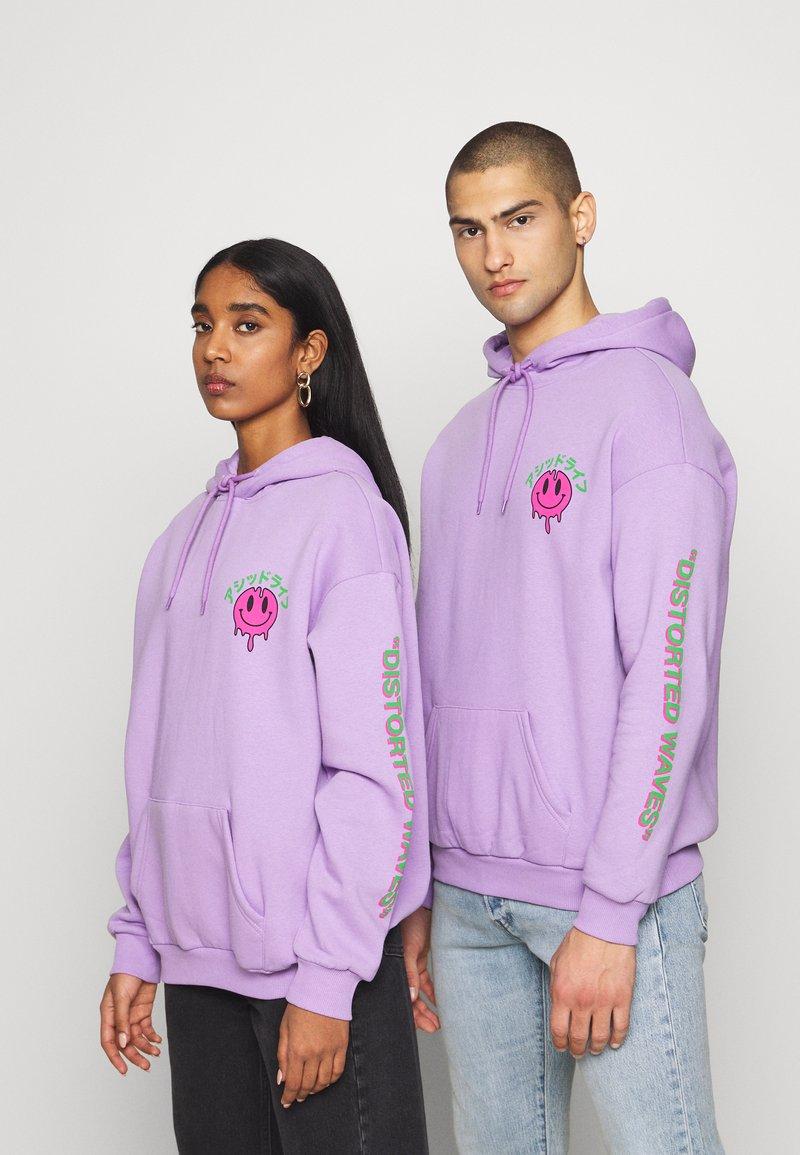 YOURTURN - UNISEX - Jersey con capucha - lilac