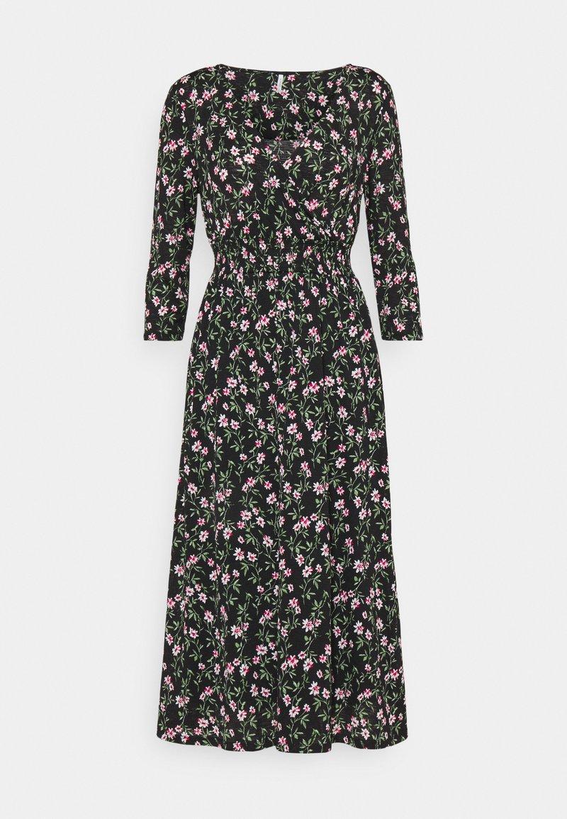 ONLY Petite - ONLPELLA DRESS - Vestido informal - black/flowering vines
