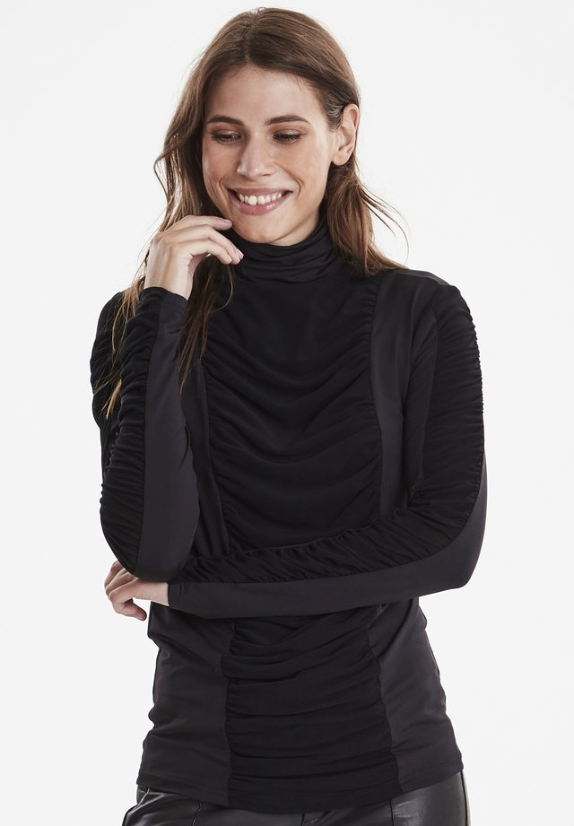 DRGILA - Long sleeved top - black