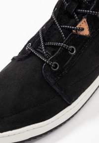 HUB - CHES 2.0 - Lace-up ankle boots - black/offwhite - 2
