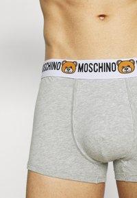 Moschino Underwear - TRUNK 2 PACK - Underbukse - gray melange - 2