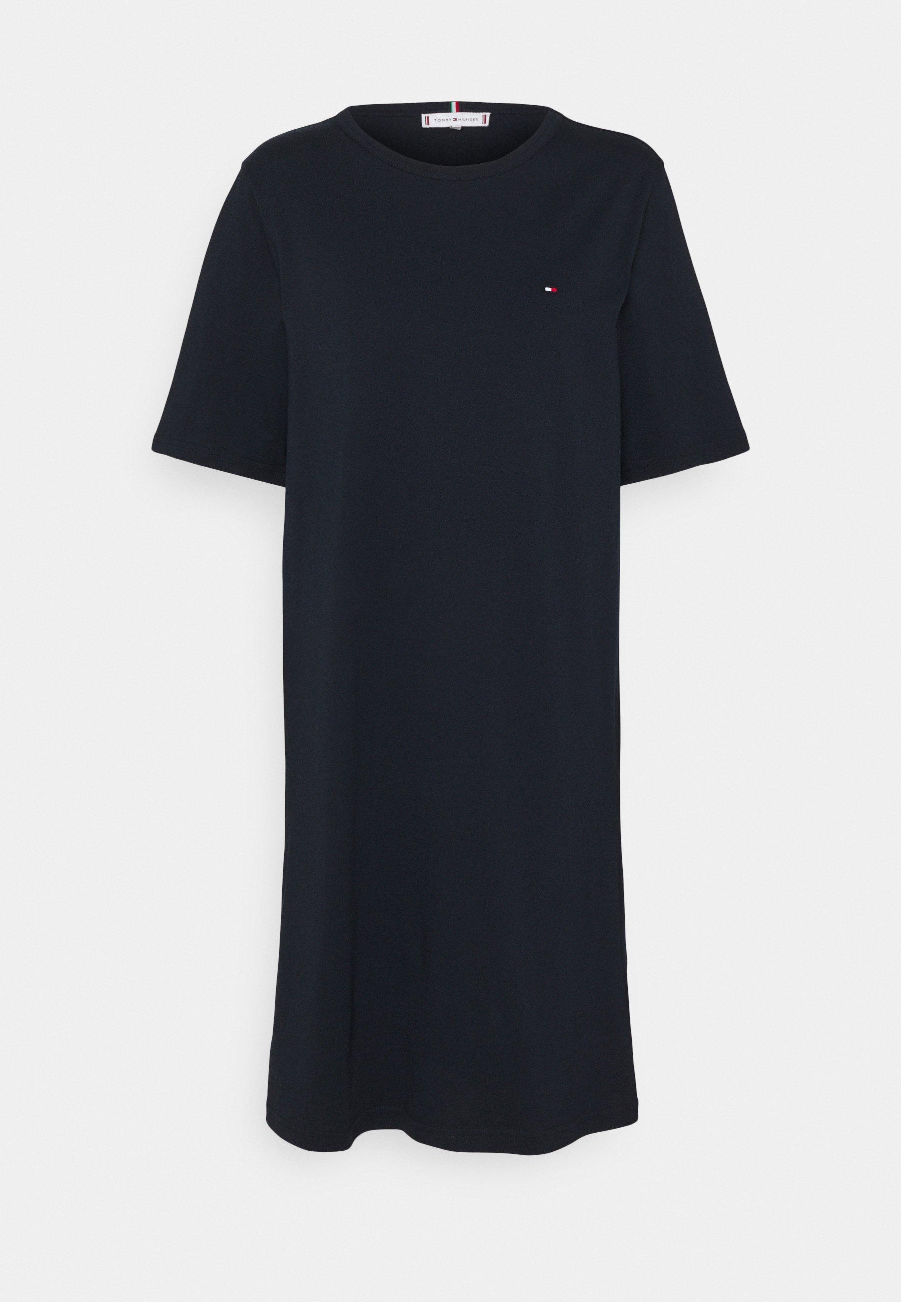 Women SHIFT SHORT DRESS - Jersey dress
