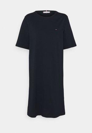 SHIFT SHORT DRESS - Jersey dress - desert sky