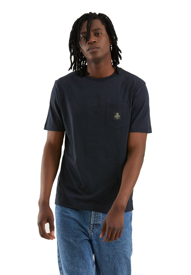 T-shirt basic - blu scuro