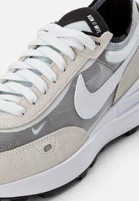Nike Sportswear - WAFFLE ONE - Sneakers - summit white/white-black-orange - 3