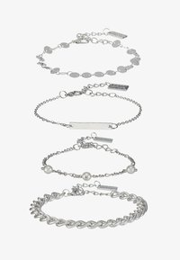 sweet deluxe - 4 PACK - Bracelet - silver-coloured - 1