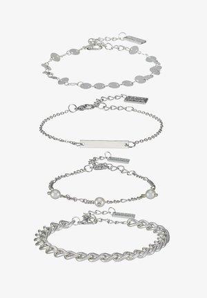 4 PACK - Náramek - silver-coloured