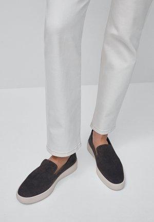 Slip-ons - dark grey