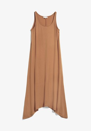 Jersey dress - toasted hazel