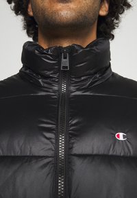 Champion Reverse Weave - HOODED JACKET - Winter jacket - black - 6