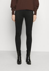 Opus - ELBINA - Leggings - Trousers - black - 0