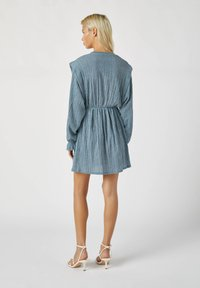 PULL&BEAR - Day dress - blue - 2