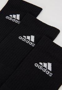 adidas Performance - CUSH 3 PACK UNISEX - Sportsstrømper - black/white - 2