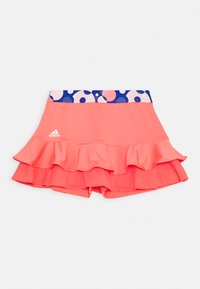 adidas Performance - FRILL SKIRT - Sports skirt - red - 0