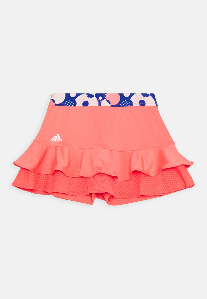 adidas Performance - FRILL SKIRT - Sports skirt - red