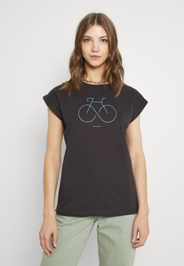 VISBY BIKETERNITY - T-shirt con stampa - forged iron