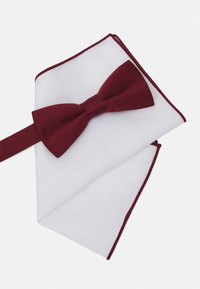 Only & Sons - ONSTED BOW TIE SET - Fazzoletti da taschino - merlot - 4