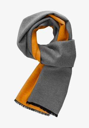 Scarf - orange grau