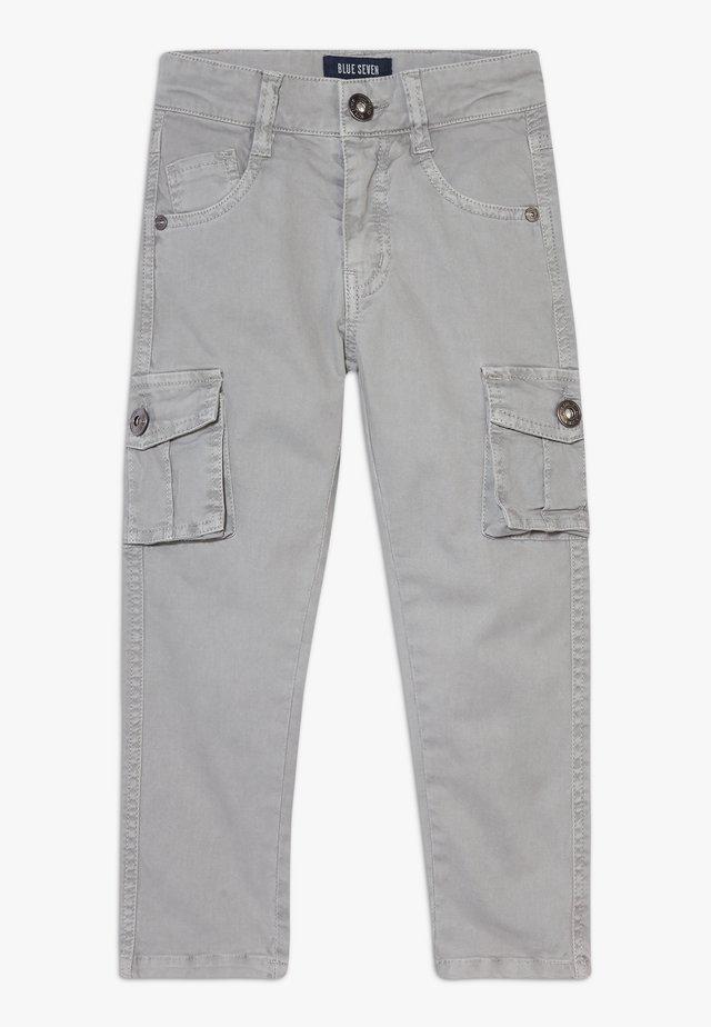 KIDS UTILITY TROUSERS - Pantalon cargo - grau original