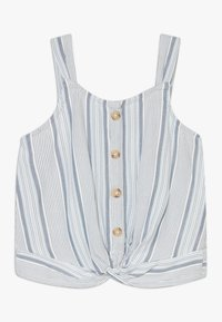 Abercrombie & Fitch - BEST IS BACK BARE TWIST - Top - blue - 0