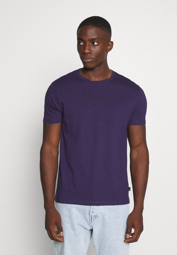 Burton Menswear London 5 PACK - T-shirt basic - frost marl/lilac marl/khaki/burg marl/blackcurrant/czarny Odzież Męska MAKX
