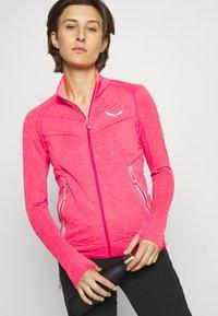Salewa - PEDROC - Fleece jacket - virtual pink melange - 3