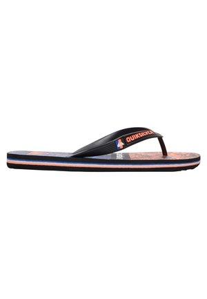 QUIKSILVER™ MOLOKAI VORTEX - TONGS POUR GARÇON AQBL100420 - Pool shoes - black/black/red