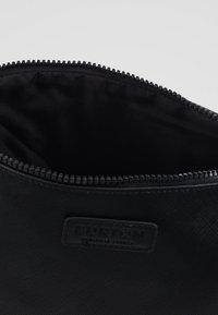 Burton Menswear London - BLACK SAFFIANO WASHB - Wash bag - black - 5