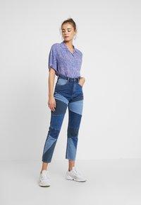 Abrand Jeans - A '94 HIGH  - Jeans Slim Fit - dark-blue denim - 1