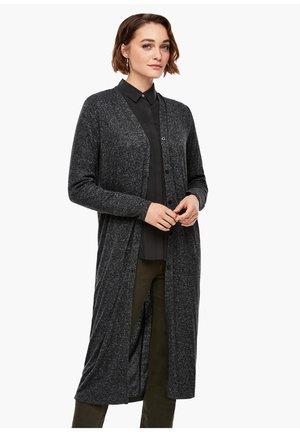 MIT MELANGE-EFFEKT - Vest - dark grey