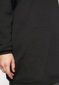 Missguided Plus - HOODIE DRESS - Day dress - black - 5