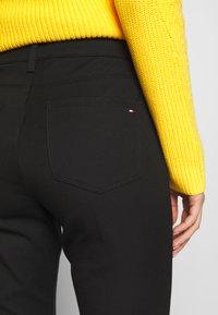 Tommy Hilfiger - GABARDINE PANT - Trousers - black - 5