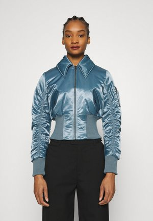 JACKET - Bomberjacke - grey blue