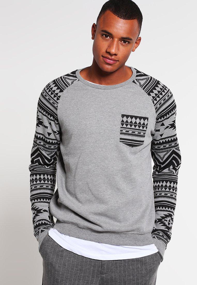 YOURTURN - Sweatshirt - mottled grey