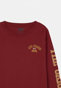Levi's® - GRAPHIC RINGER UNISEX - Long sleeved top - bordeaux - 2