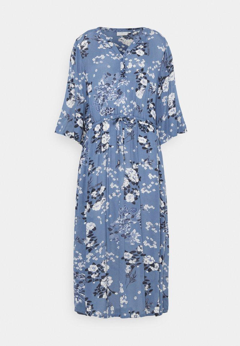 Kaffe - KAEKUA AMBER DRESS - Maxi dress - blue tone