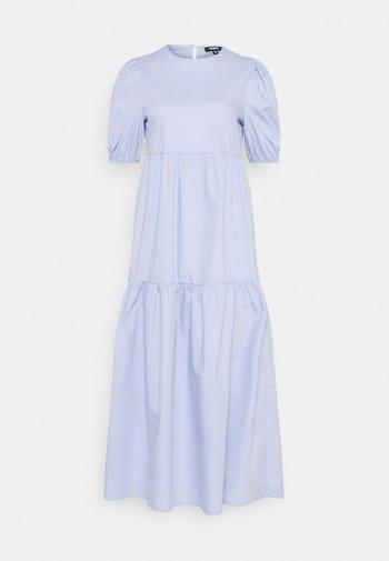 MIDAXI SMOCK DRESS - Maxi dress - baby blue