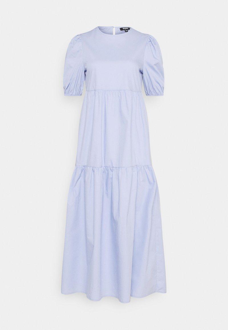 Missguided Tall - MIDAXI SMOCK DRESS - Maxi dress - baby blue