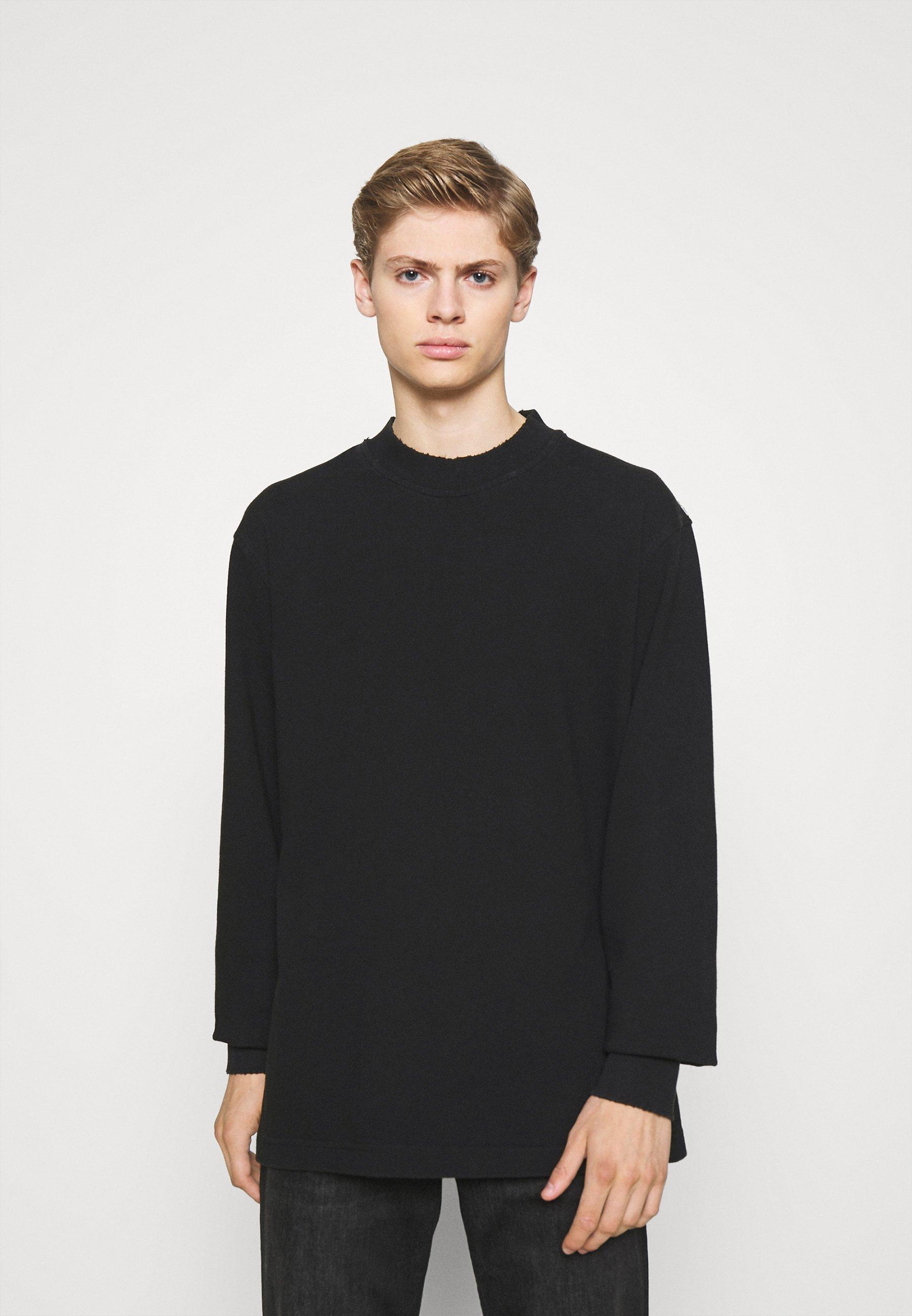 Men DISTRESSED TEE LONG SLEEVE - Sweatshirt