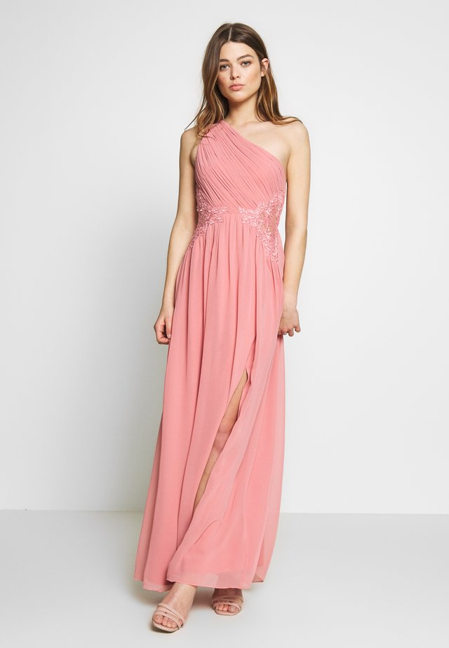 MAXI TRIMS - Robe de cocktail - desert rose